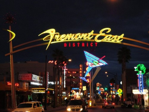 Fremont East The Vegas Solo