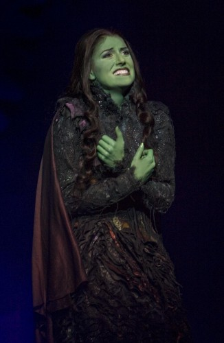 "Nicole Parker as Elphaba in ""Wicked"""