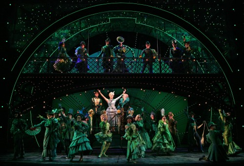 "The Broadway musical ""Wicked"""