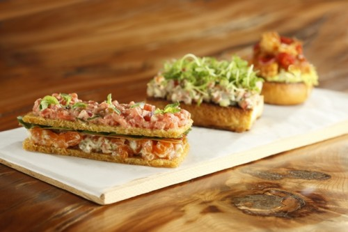 Smoked Salmon BLT, Maine Lobster Roll and Laughing Bird Shrimp Po Boy ...