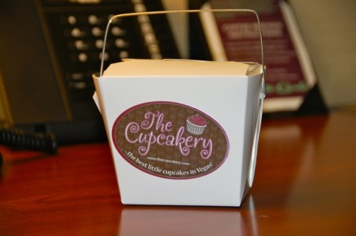 Cupcakery takeout container