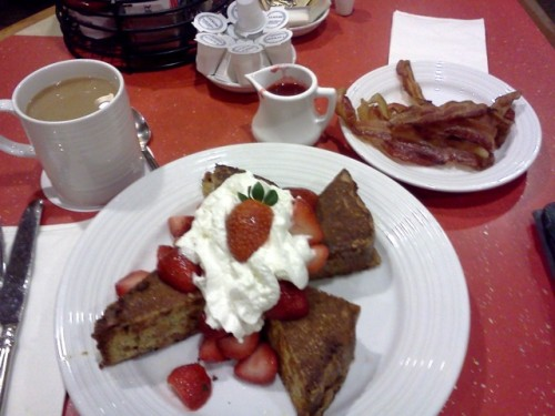 The Strawberry Shortcake French Toast