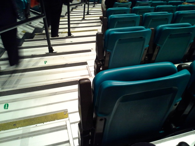 Stairs and seats