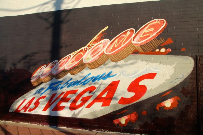 Welcome to Las Vegas painting
