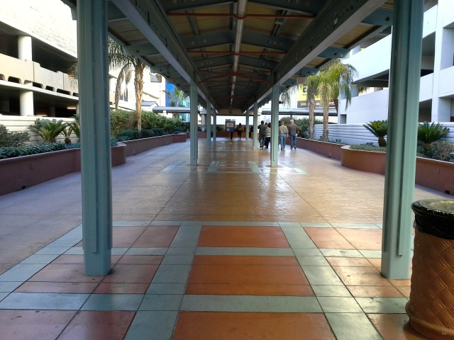 Walk to Monorail