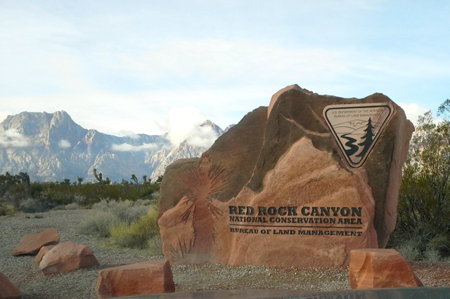 Red Rock Canyon Sign