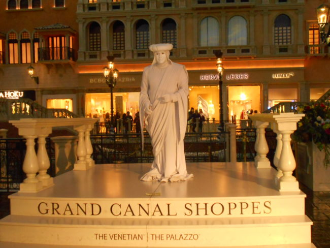 enetian Grand Canal Shoppes